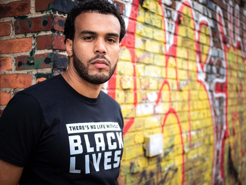 Think POES | urban life gear - urban t-shirt - Black Lives Matter t-shirt
