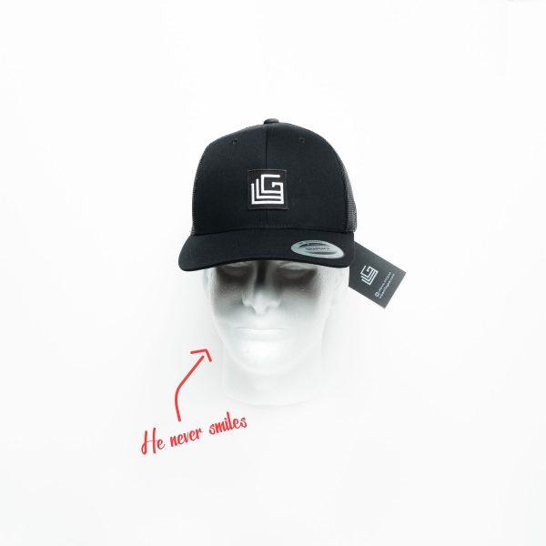 Urban Trucker Hat | urban life gear - urban t-shirt - Modern Minimalist t-shirt - Black Lives Matter t-shirt